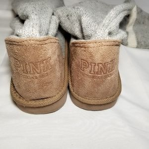 PINK Victoria's Secret Shoes - 💥SOLD💥Victoria's Secret Mukluks Sock Boot Love